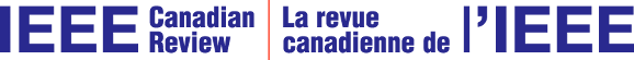 IEEE Canadian Review Logo